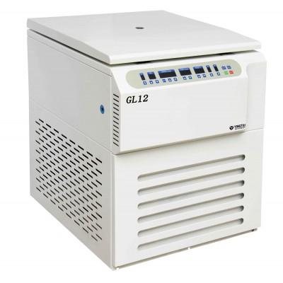 Refrigerated large capacity centrifuge